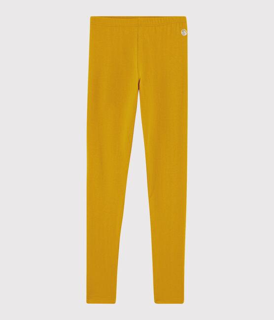 Girls' Jersey Leggings Boudor yellow