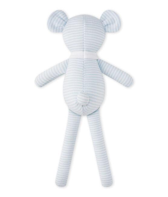 Bear comfort object in milleraies stripes