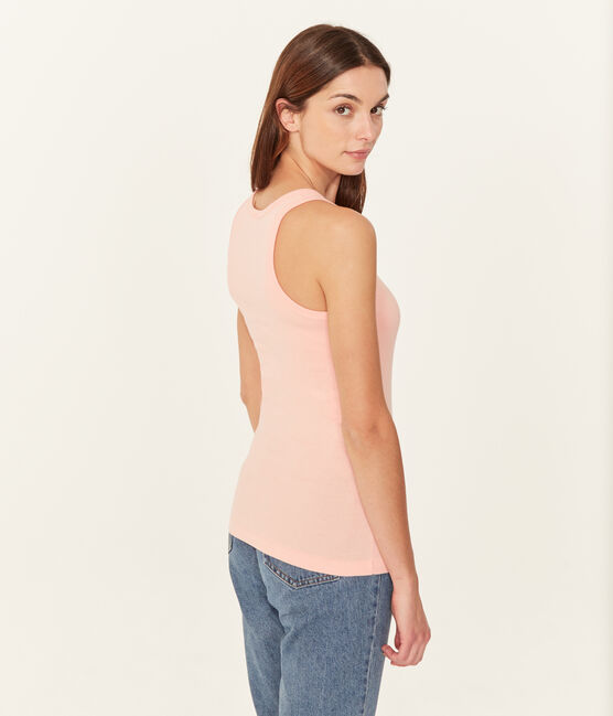 Women's sleeveless top Rosako pink