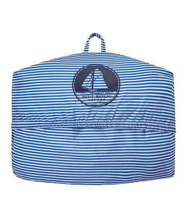 Unisex milleraies-striped waterproof windbreaker