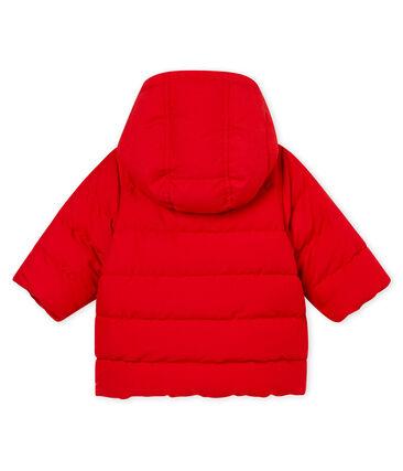 Baby boy's padded microfibre jacket