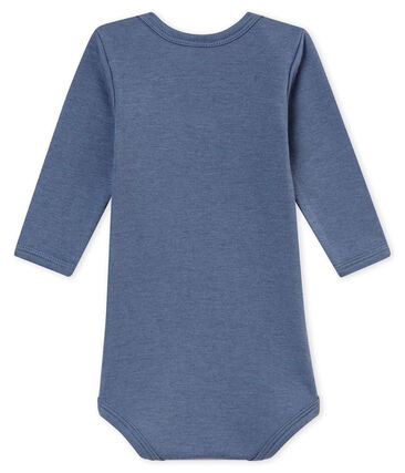 Baby boy's long sleeved body Turquin blue