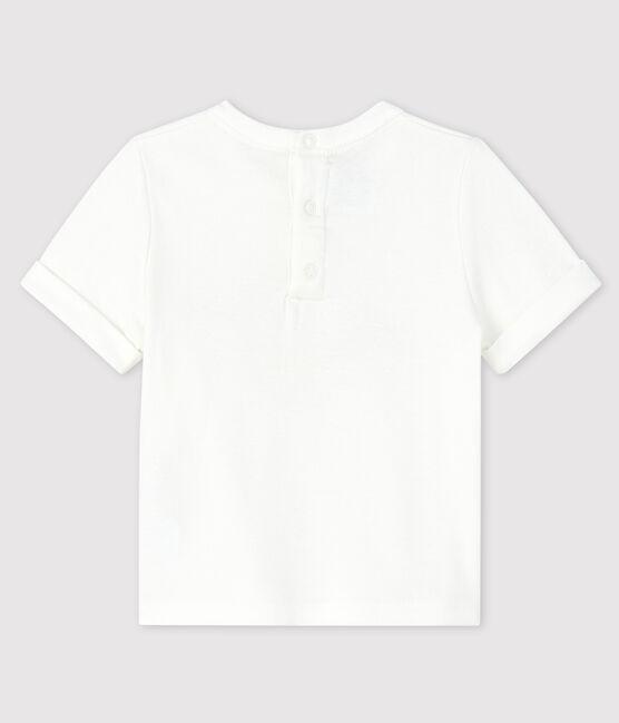 Baby boy's t-shirt Marshmallow white