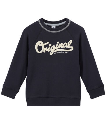 Boy's cotton fleece sweatshirt