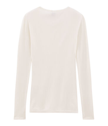 Women's Warm T-Shirt Marshmallow white