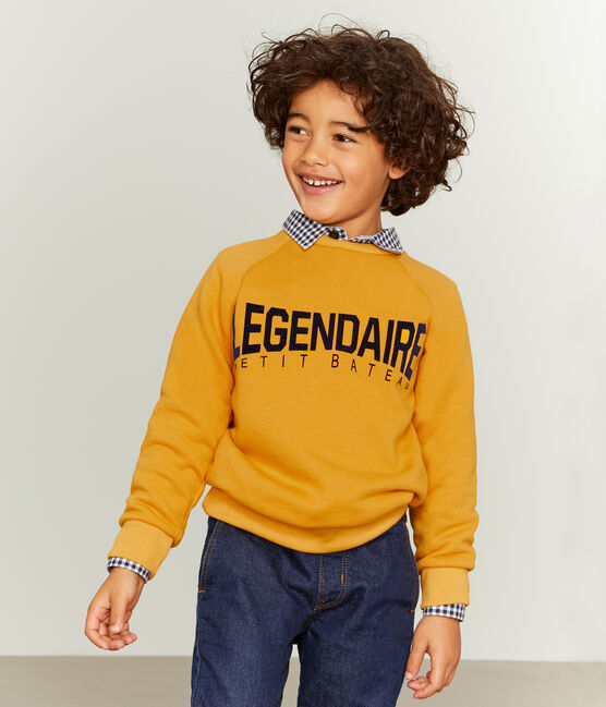 Boy's Sweatshirt Boudor yellow