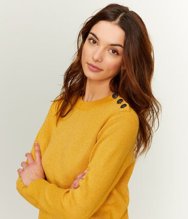Women's Pullover Boudor yellow / Or yellow