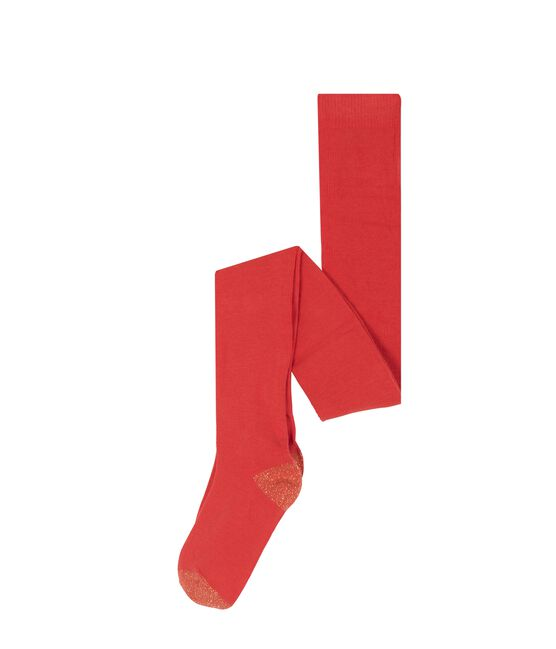 Girls' Tights Signal red