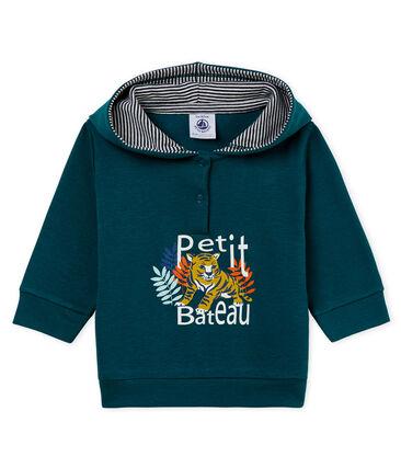 Baby boys' light hooded Sweatshirt