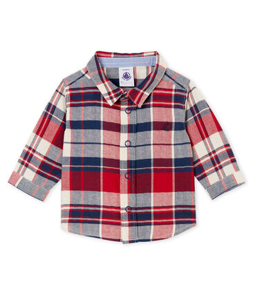 Baby boy's checked shirt