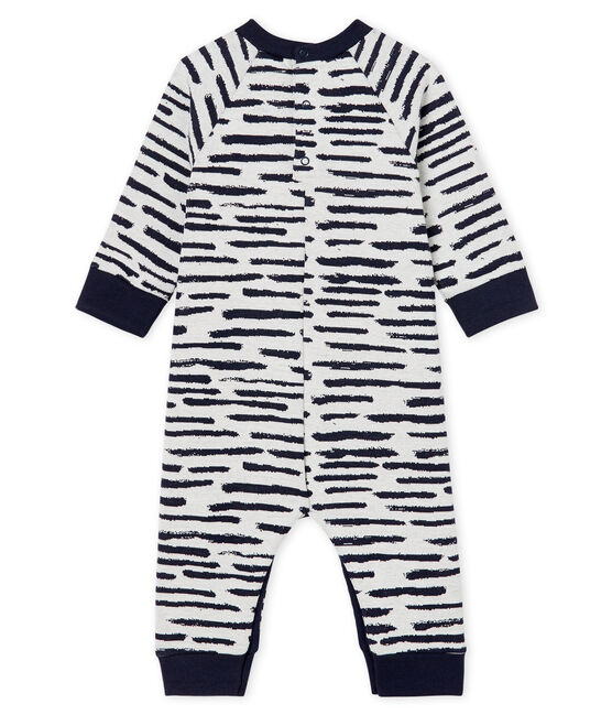 Baby Boys' Long Jumpsuit by Jean Jullien MARSHMALLOW/DASH