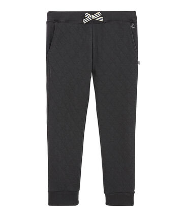 Boy's quilted double knit trousers