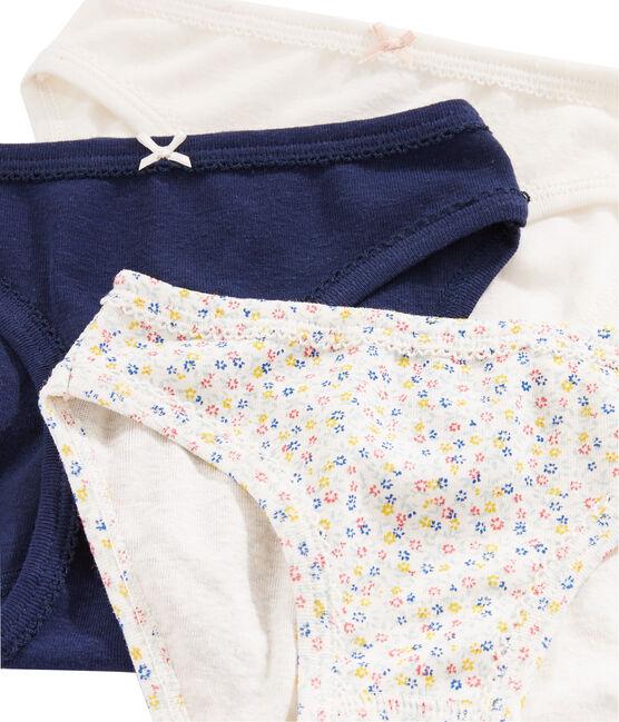 Girls' Linen/Cotton Knickers - 3-Piece Set . set