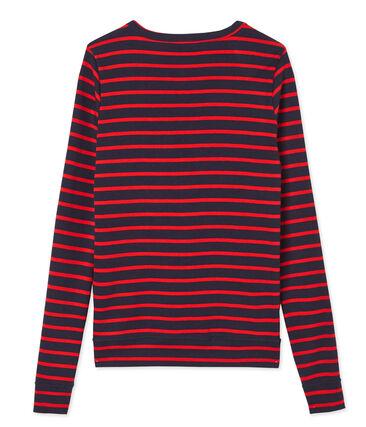Iconic women's striped cardigan