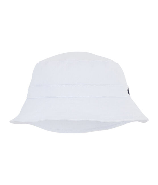 Unisex twill children's bucket hat Marshmallow white
