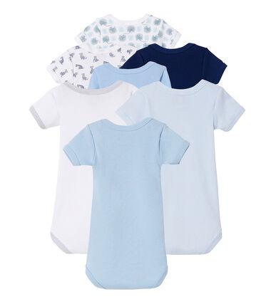 7-piece baby boy short sleeve surprise clutch