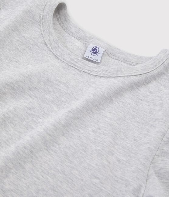 Women's Iconic Round Neck T-Shirt Beluga grey