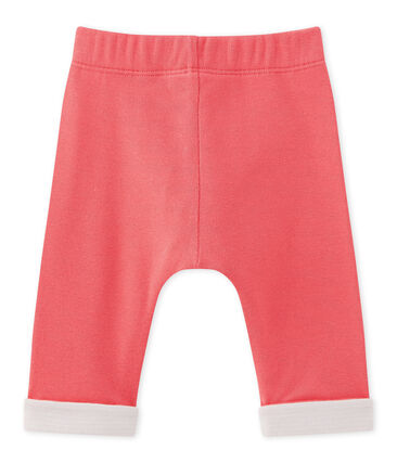 Baby boy's reversible pants Gloss pink