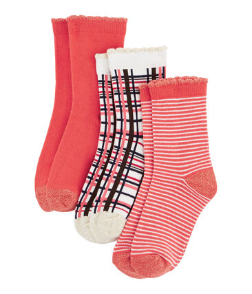 Girls' Socks - 3-Piece Set