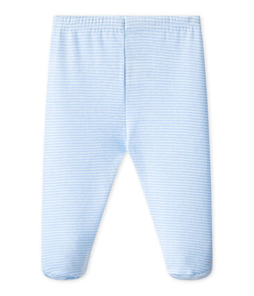 UNISEX BABY PLAIN PANTS WITH FEET