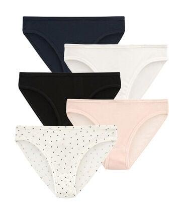 Set of 5 pairs of women's lightweight cotton pants
