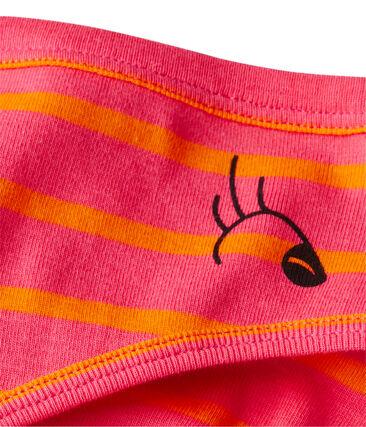 Women's striped original rib briefs