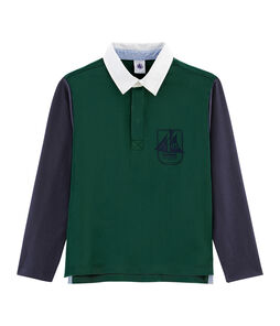 Boys' Rugby Polo Shirt