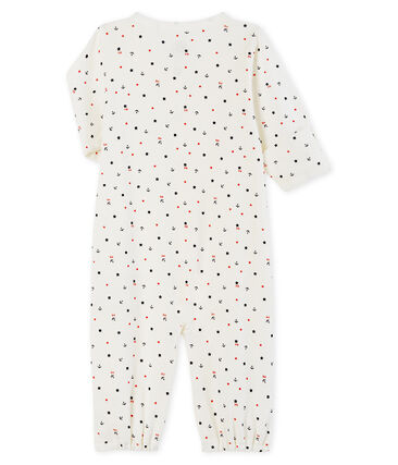 Babies' Ribbed Jumpsuit/Sleeping Bag