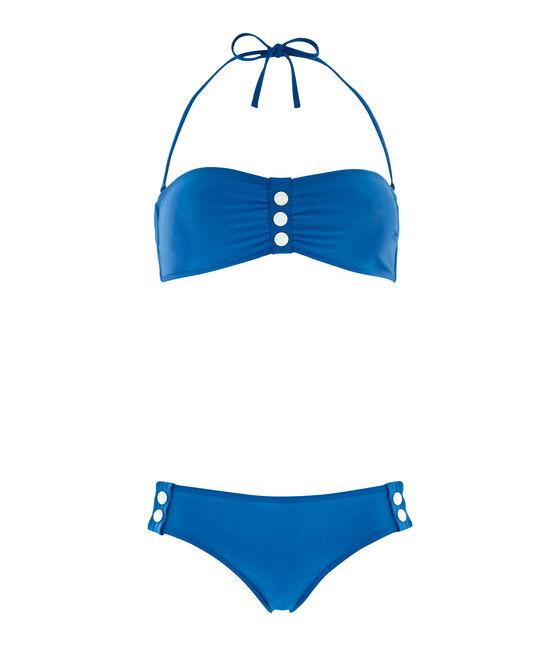 Women's 2-piece swimsuit Riyadh blue