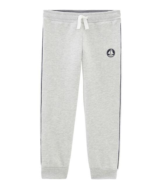 Boys' Fleece Trousers Beluga grey