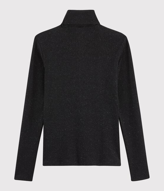 Women's iconic undershirt NOIR/ARGENT