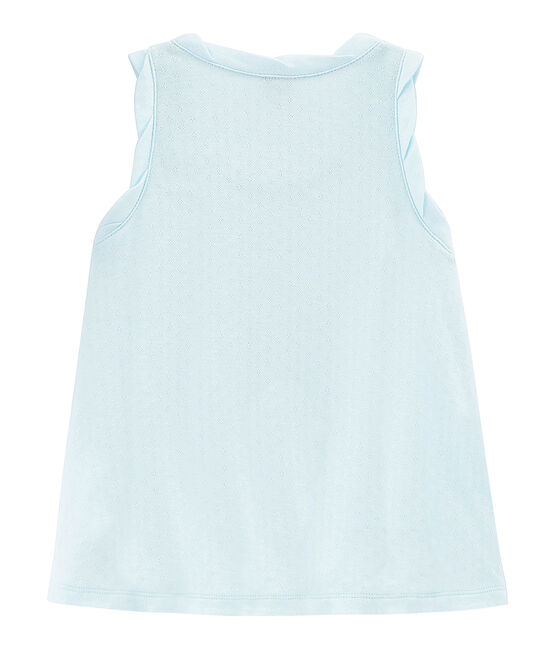 Girls' Sleeveless Top Bocal blue