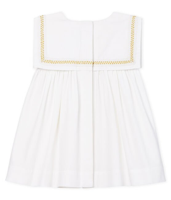 Baby Girls' Special Occasion Dress Ecume white