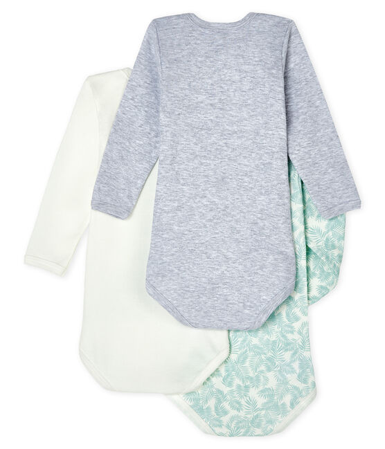 Unisex Baby's Long-Sleeved Bodysuit - 3-Piece Set . set