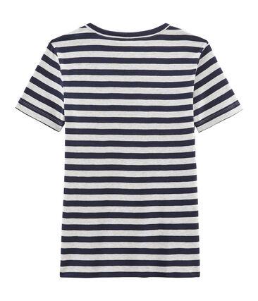Women's Iconic T-Shirt Smoking blue / Beluga grey