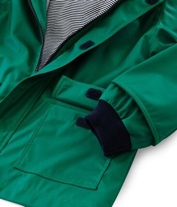 Unisex Children's Raincoat Ecology green