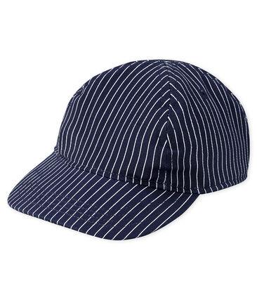 Unisex cap for babies Smoking blue / Marshmallow white