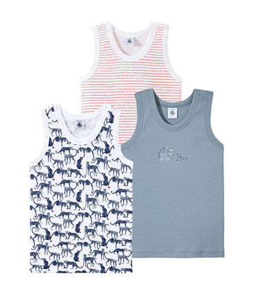 Set of 3 boys' tank tops