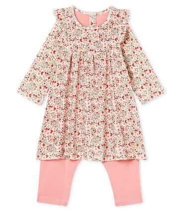 Baby Girls' Printed Dress/Leggings