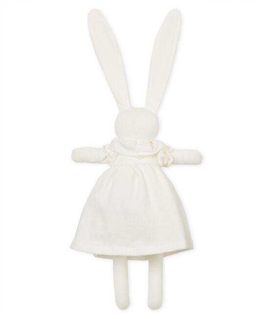 Elegant rabbit comforter Marshmallow white