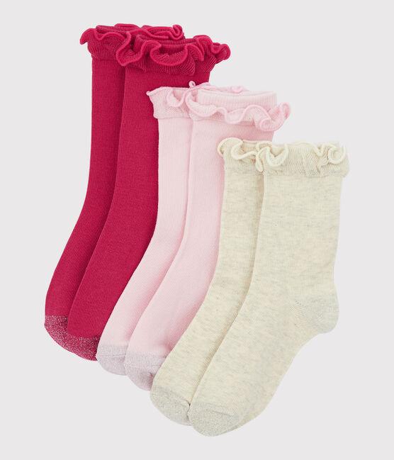Girls' socks . set