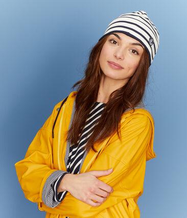 Unisex Sailor Hat Coquille beige / Smoking blue