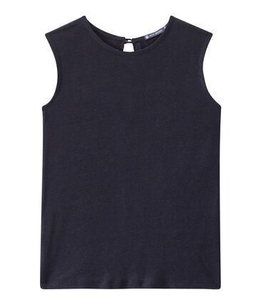 Women's linen sleeveless top