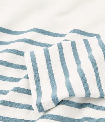 Women's twirling breton top