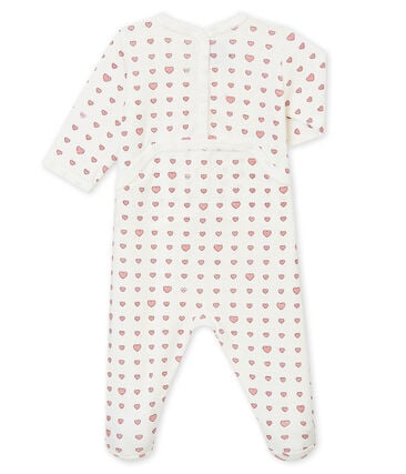 Baby girl's sleepsuit