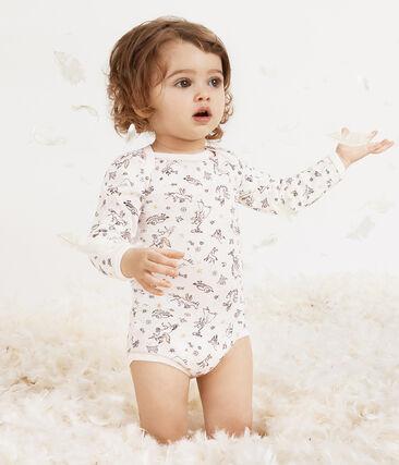 Baby Girls' Long-Sleeved Bodysuit - 5-Piece Set . set