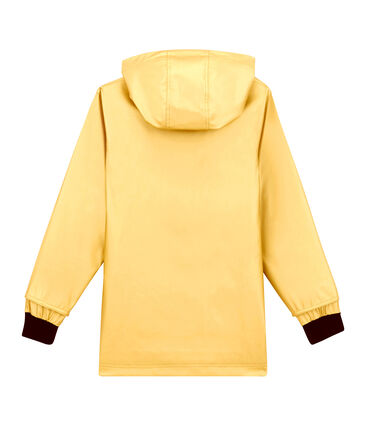 Iconic child's raincoat Dore yellow