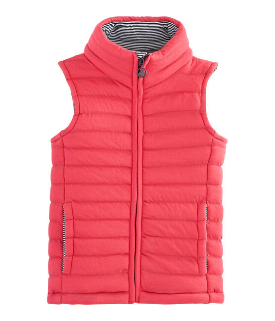 Unisex Children's Sleeveless Jacket Signal red