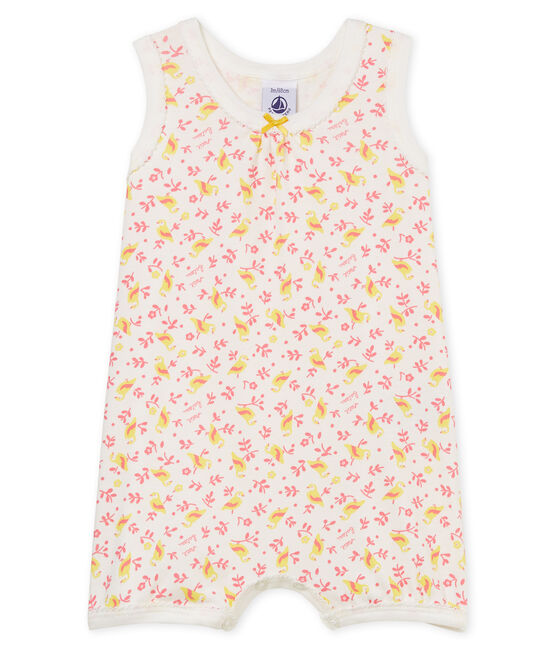Baby Girls' Shortie Marshmallow white / Multico white
