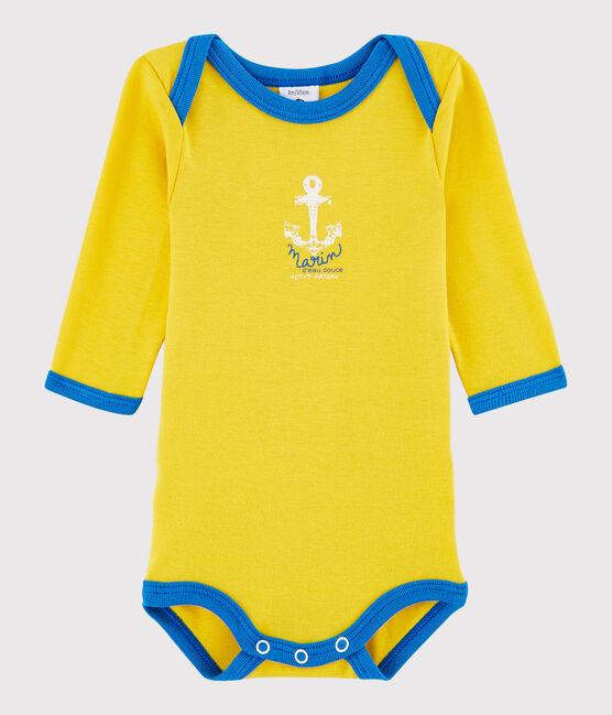 Baby Boys' Long-Sleeved Bodysuit HONEY